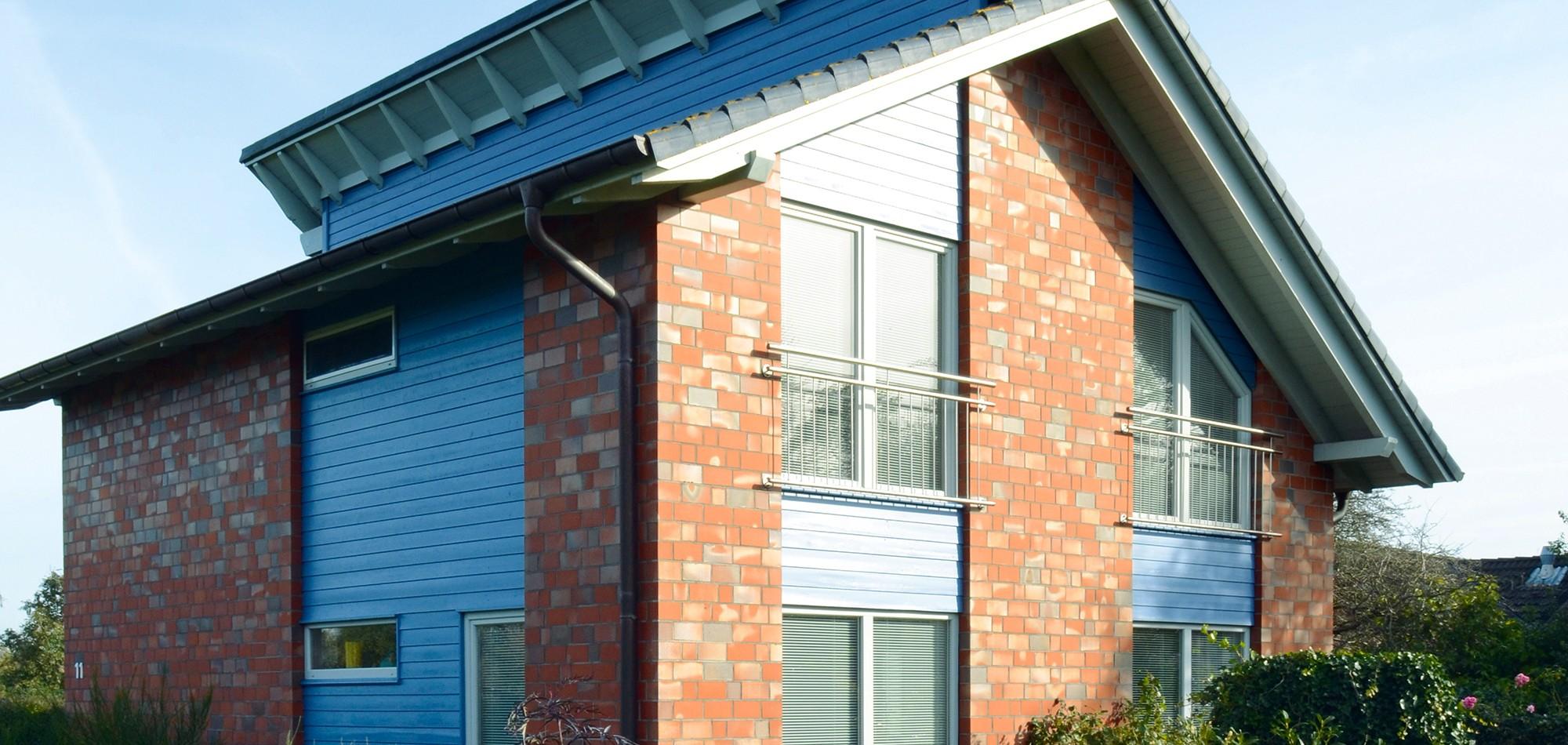 Sehr Verblendete Häuser – Holzhäuser & Zimmerei Richardsen, Langenhorn PV96